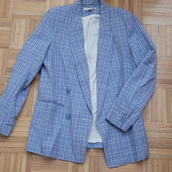 H&M sky blue jacket